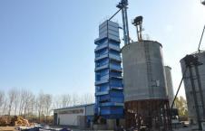 80吨玉米烘干塔图