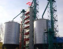 120吨玉米烘干塔图