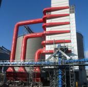 500吨玉米烘干塔图